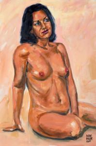 ANDALOUSE, portrait érotique de Pictor Mulier