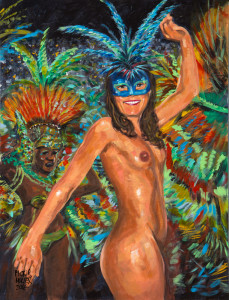 SAMBA DE LUFA peint par Pictor Mulier