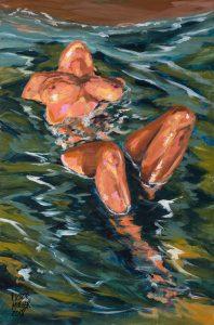 Relax en la orilla del mar de Pictor Mulier