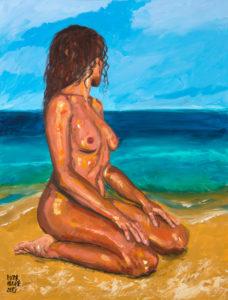 Rosa sentada en la orilla de Pictor Mulier