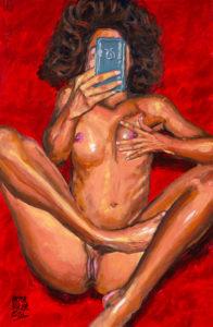 Sexting pendant le confinement de Pictor Mulier